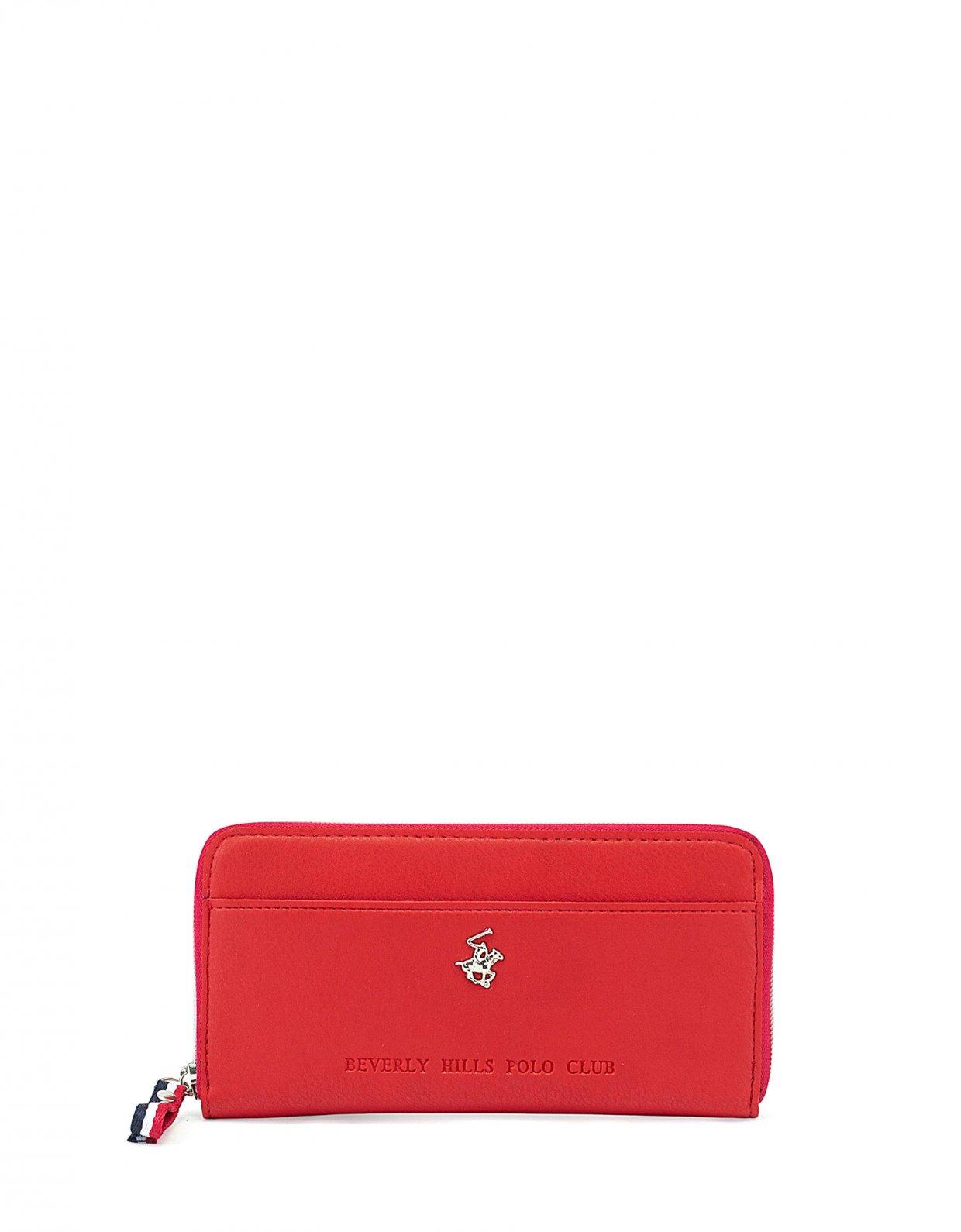 Beverly Hills Polo Club Aruba portafogli rosso