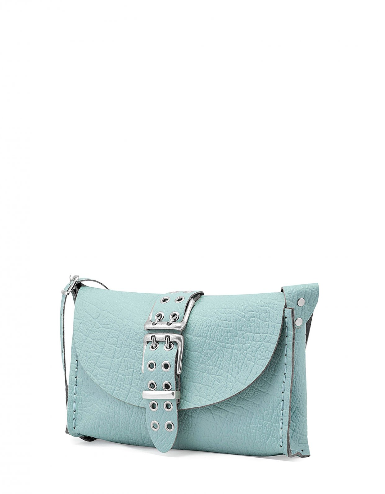 Individual Art Leather Mystery of love bag blue