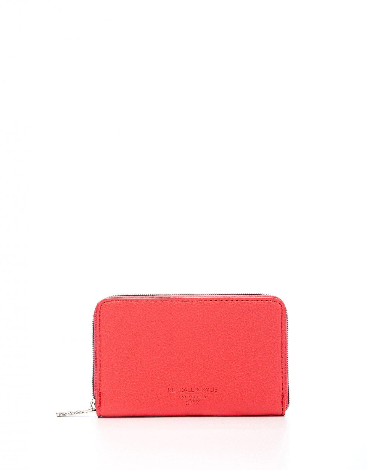 Kendall + Kylie Nina wallet fuchsia
