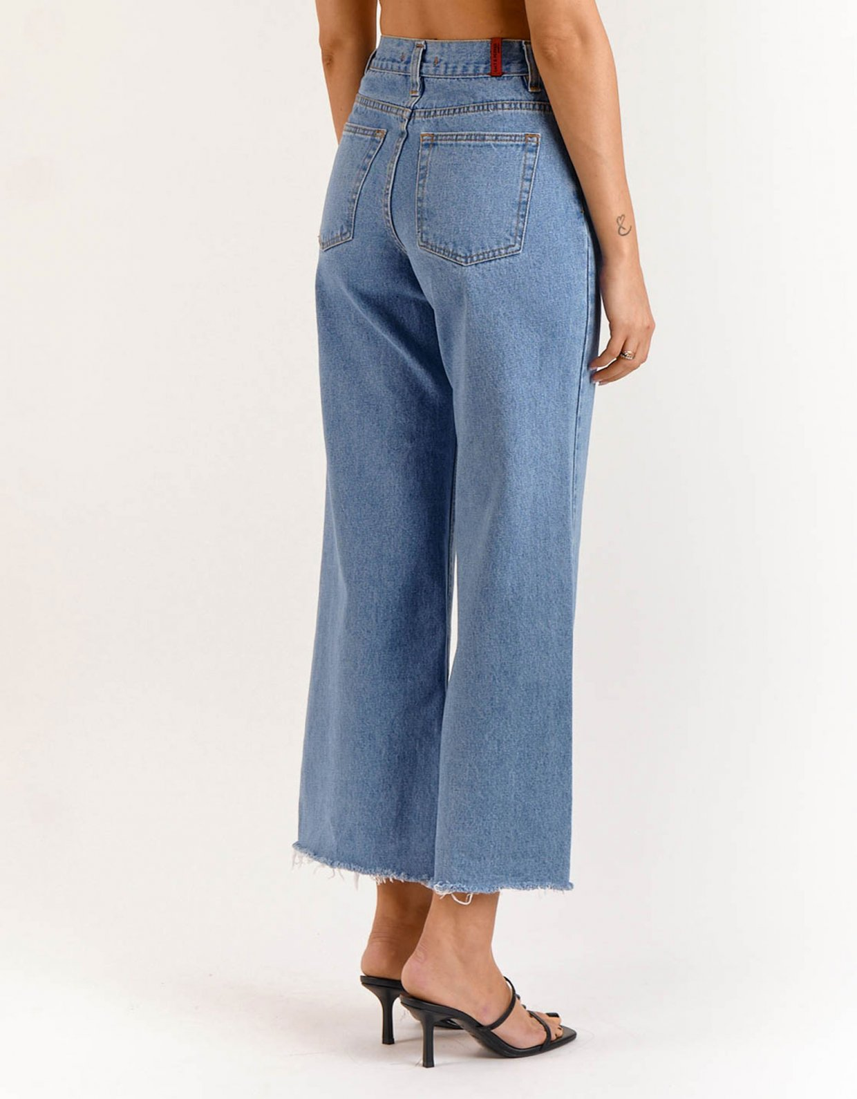 Salt & Pepper Marissa medium cropped denim pants