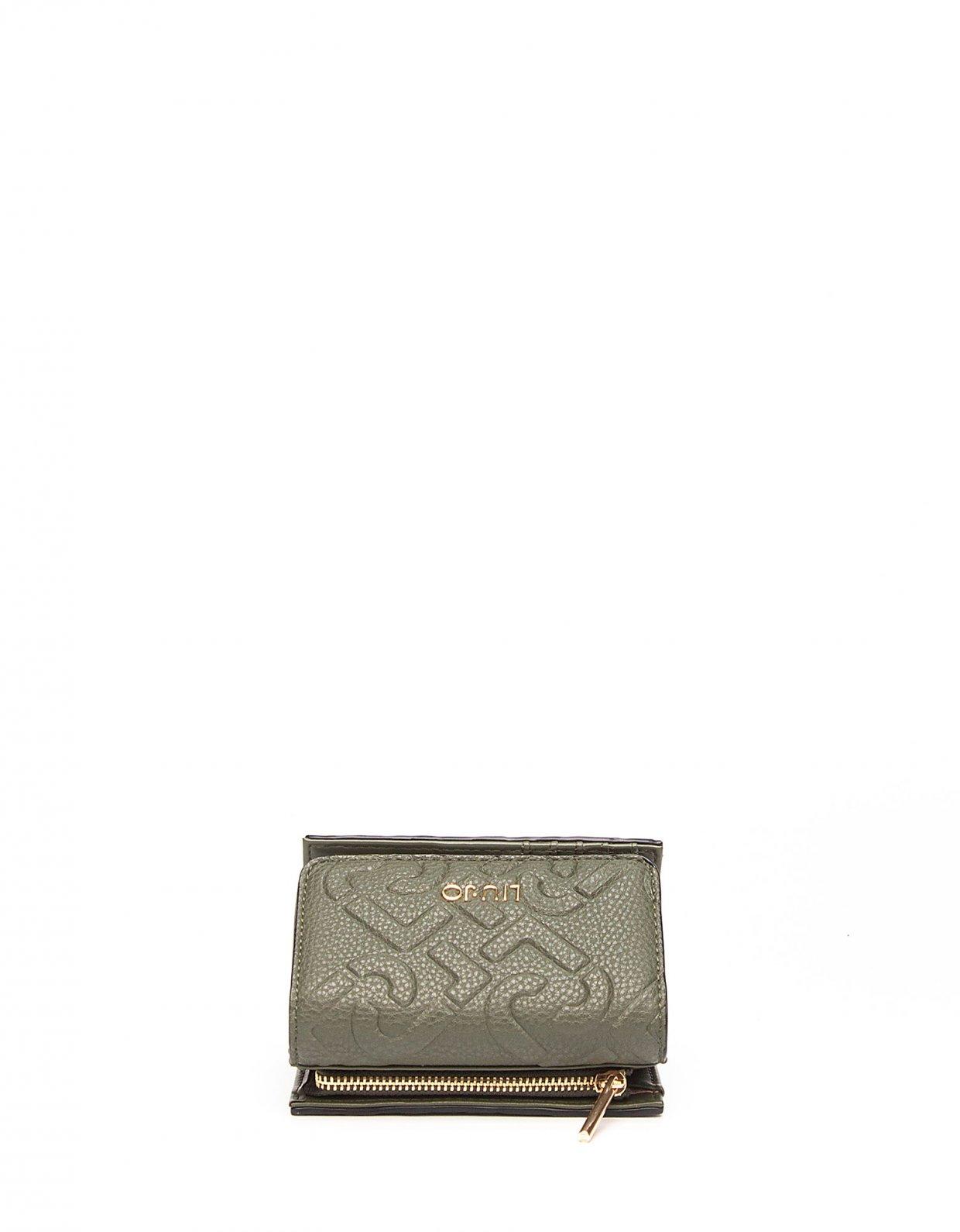 Liu Jo Wallet with logo dark olive