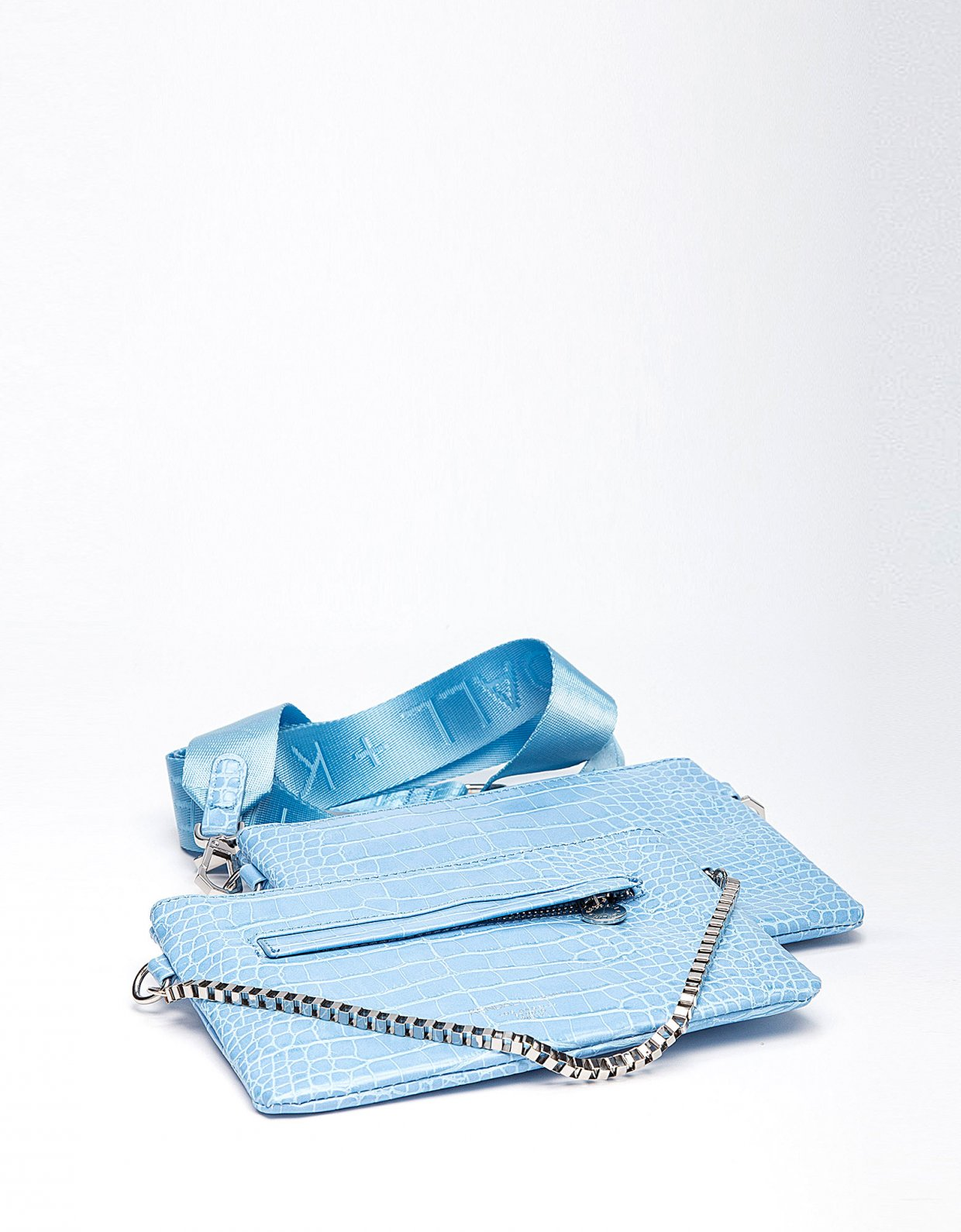 Kendall + Kylie Luna crossbody blue