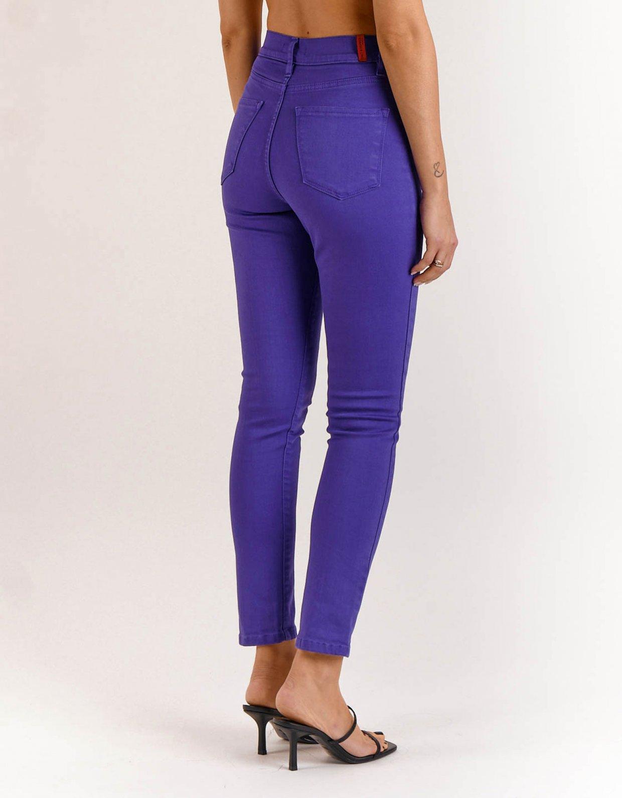 Salt & Pepper Kate violet reworked pants