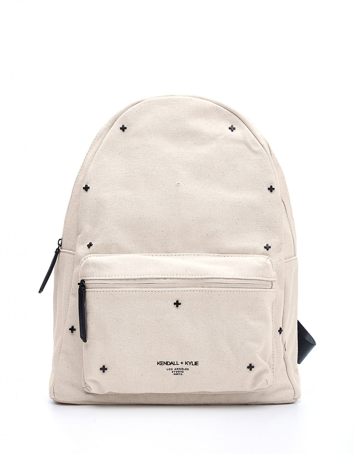 Kendall + Kylie Cora large backpack natural canvas