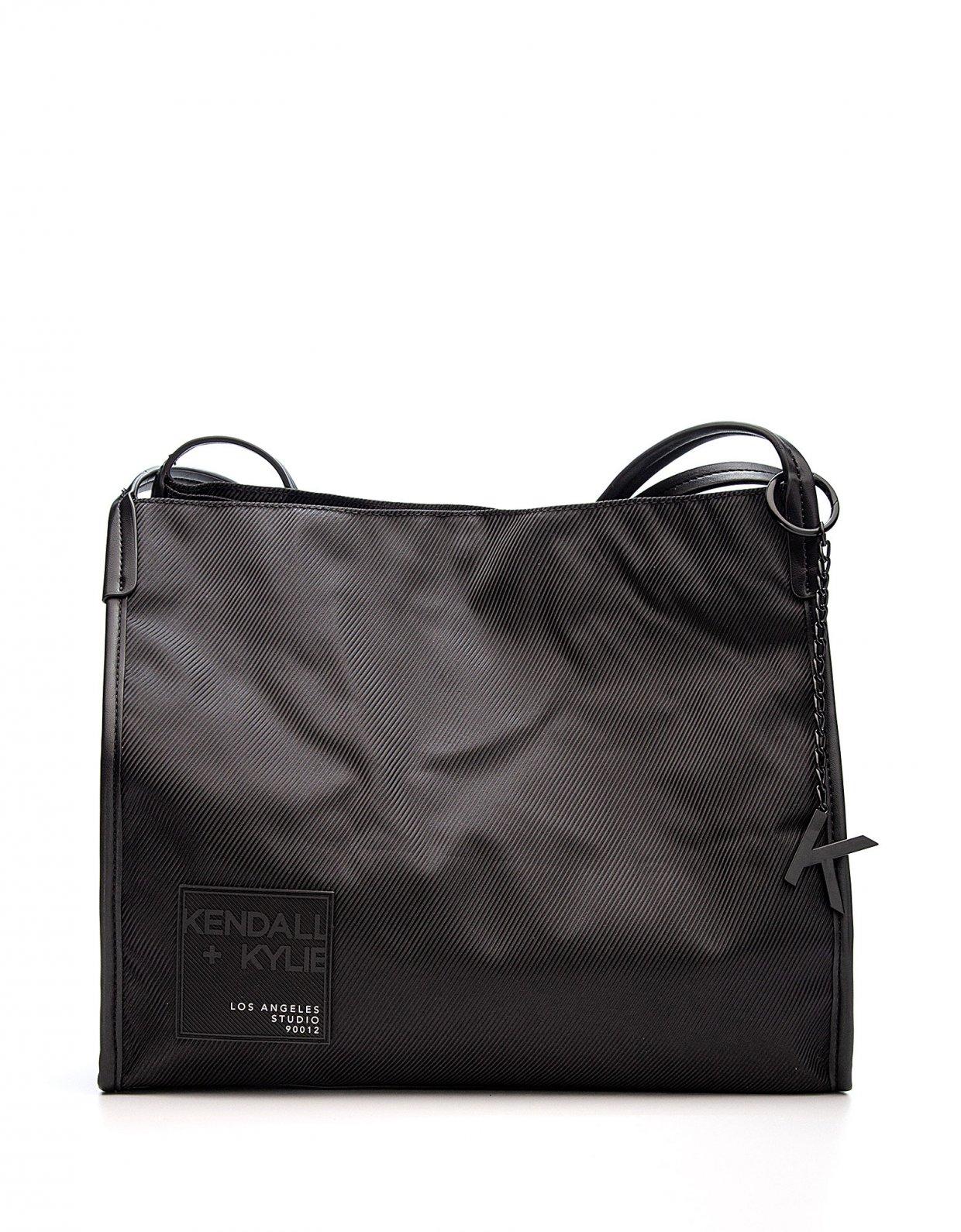 Kendall + Kylie Chrishell tote bag black