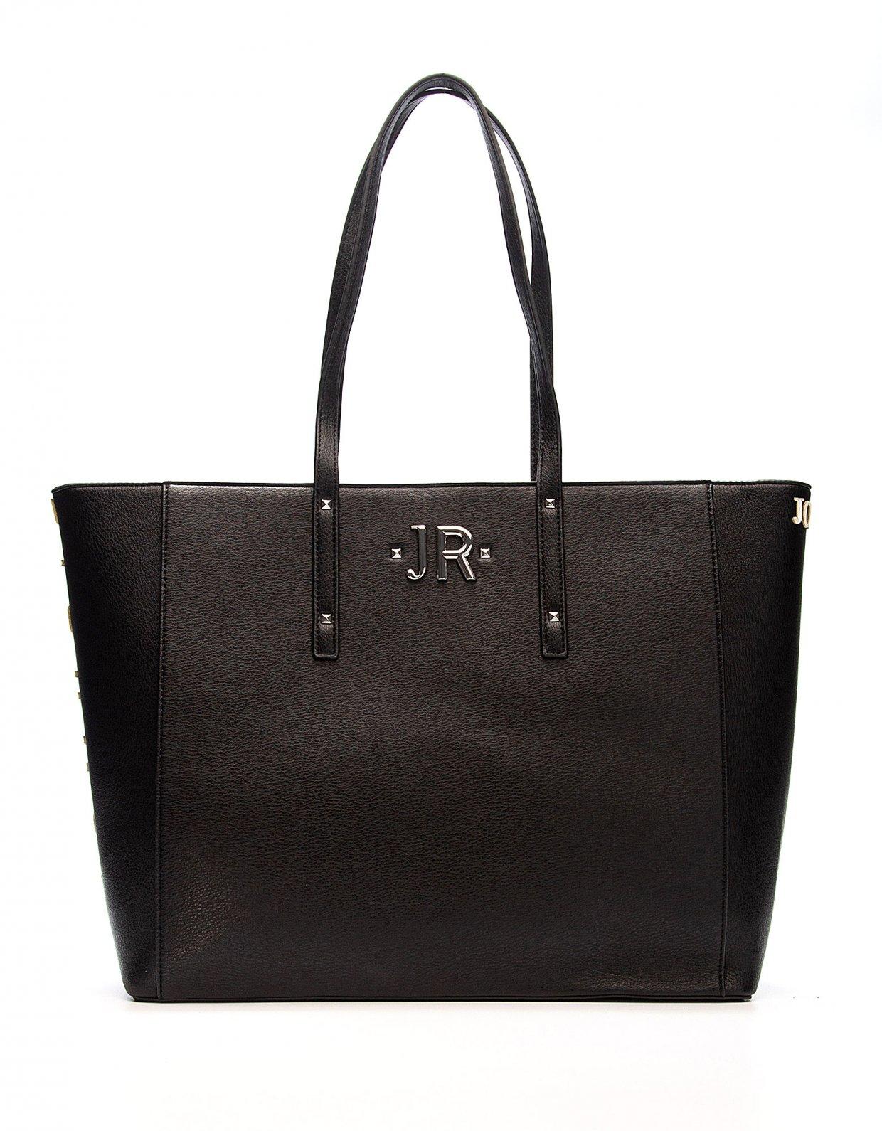 John Richmond Shopping bag Hunting black