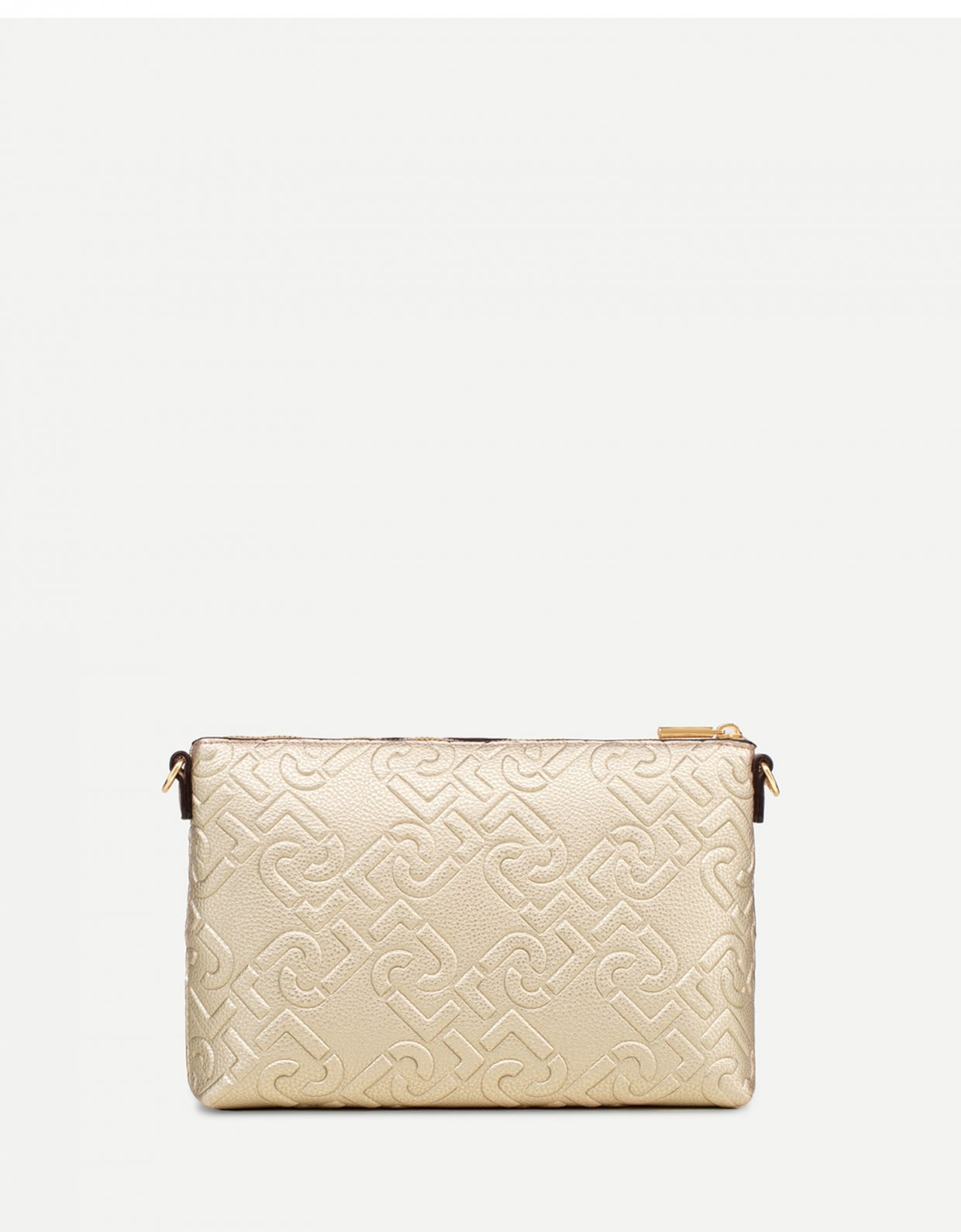 Liu Jo Set of bags with logo light gold
