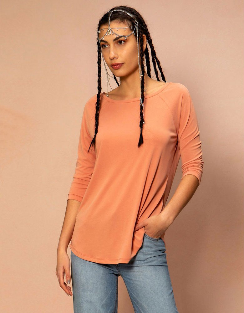 Peace & Chaos Glaze basic top