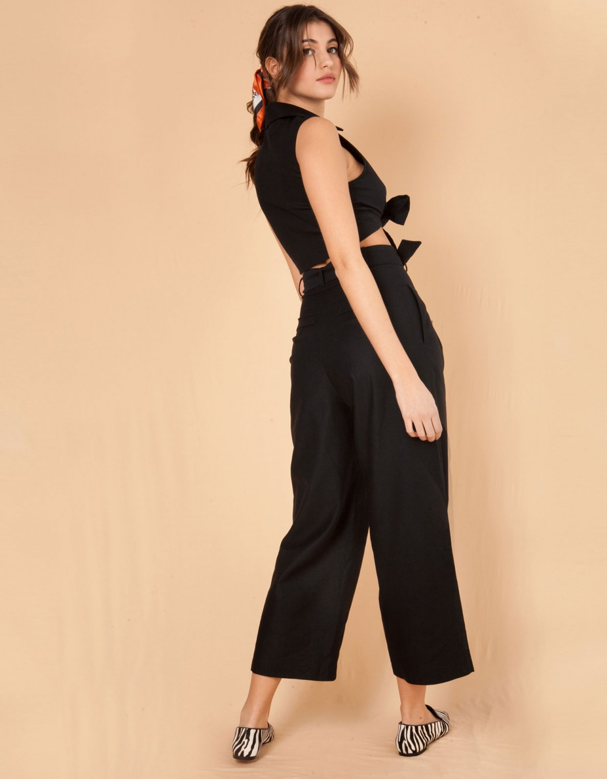 Mallory the label Melone black pants