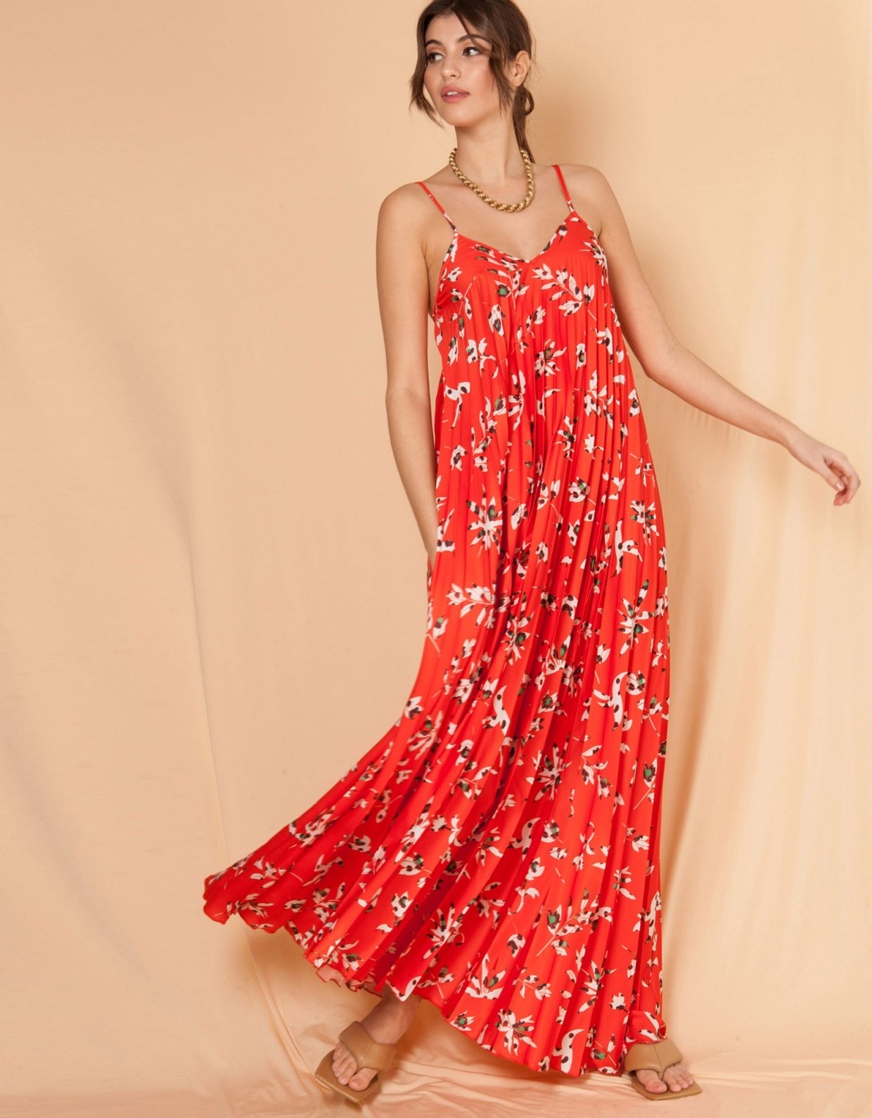 Mallory the label Melodia red dress