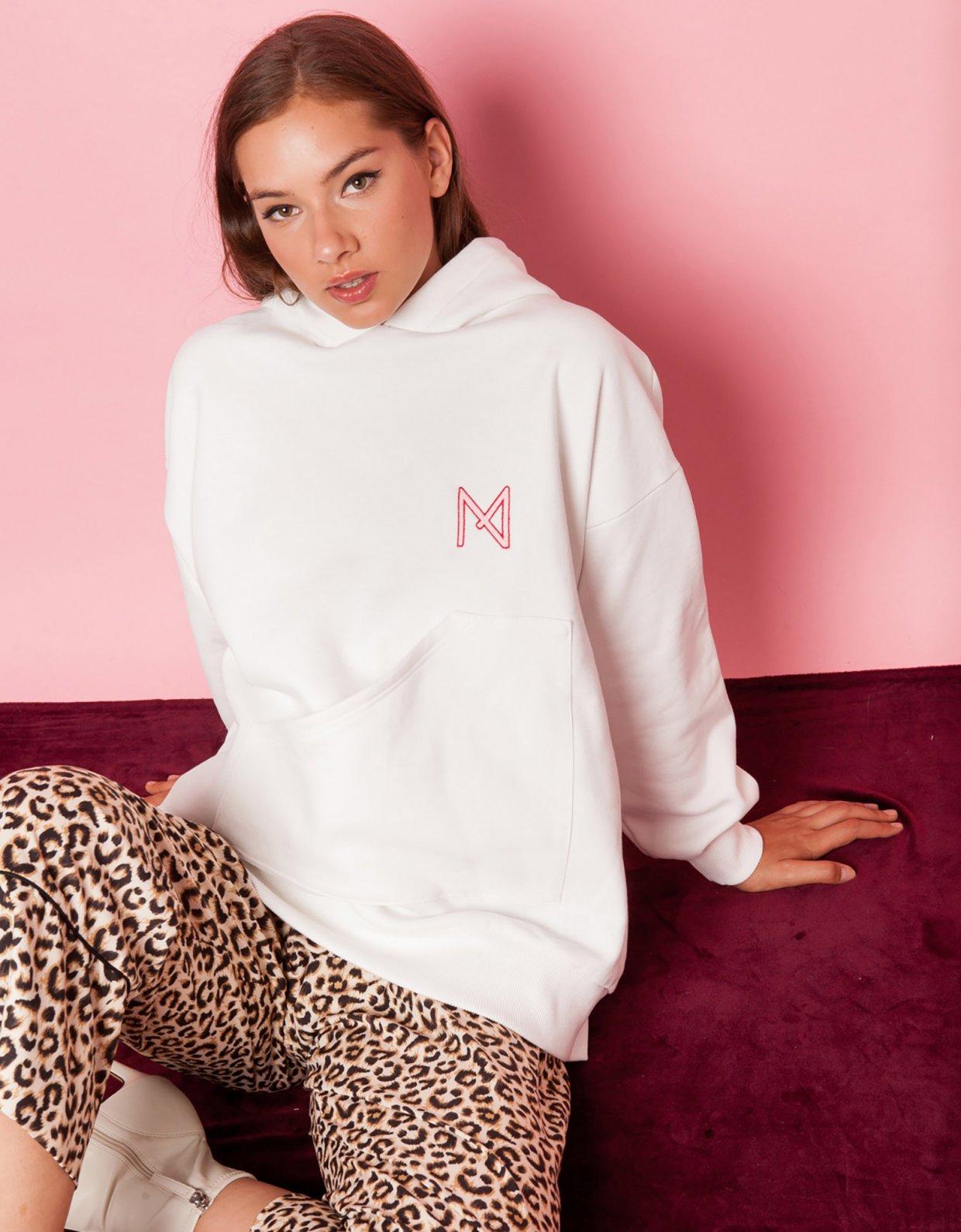 Mallory the label Marl brown animal print pants
