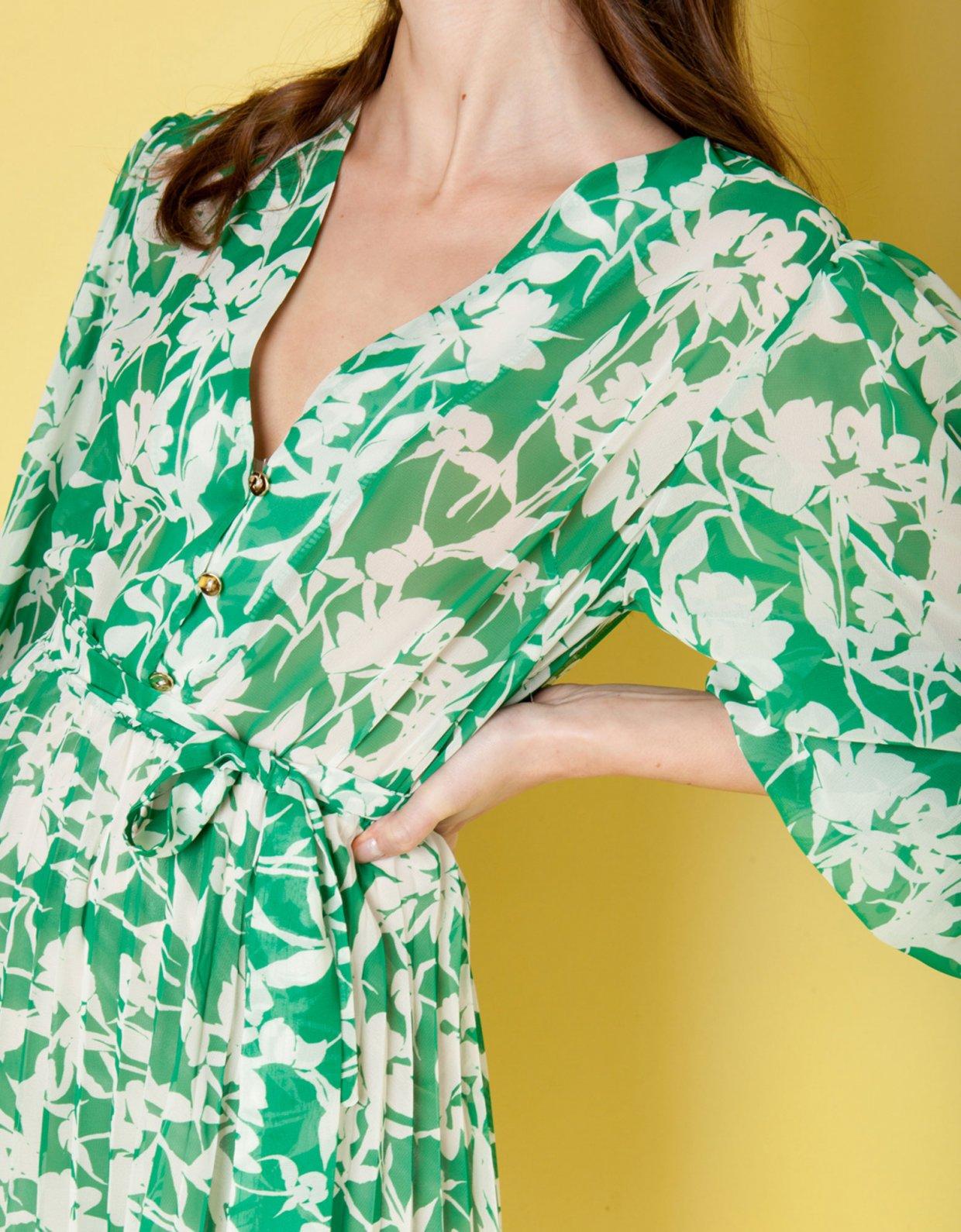 Mallory the label Fiori green dress