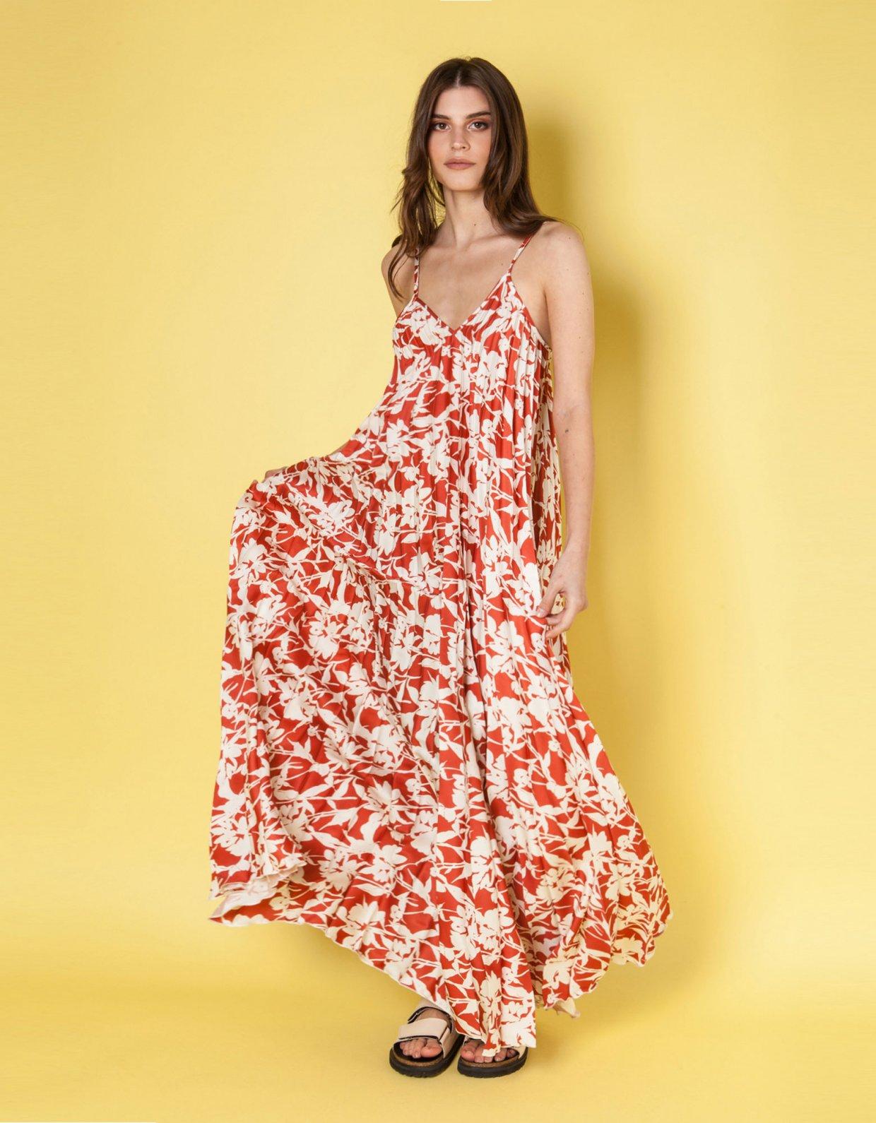 Mallory the label Melodia terracotta dress