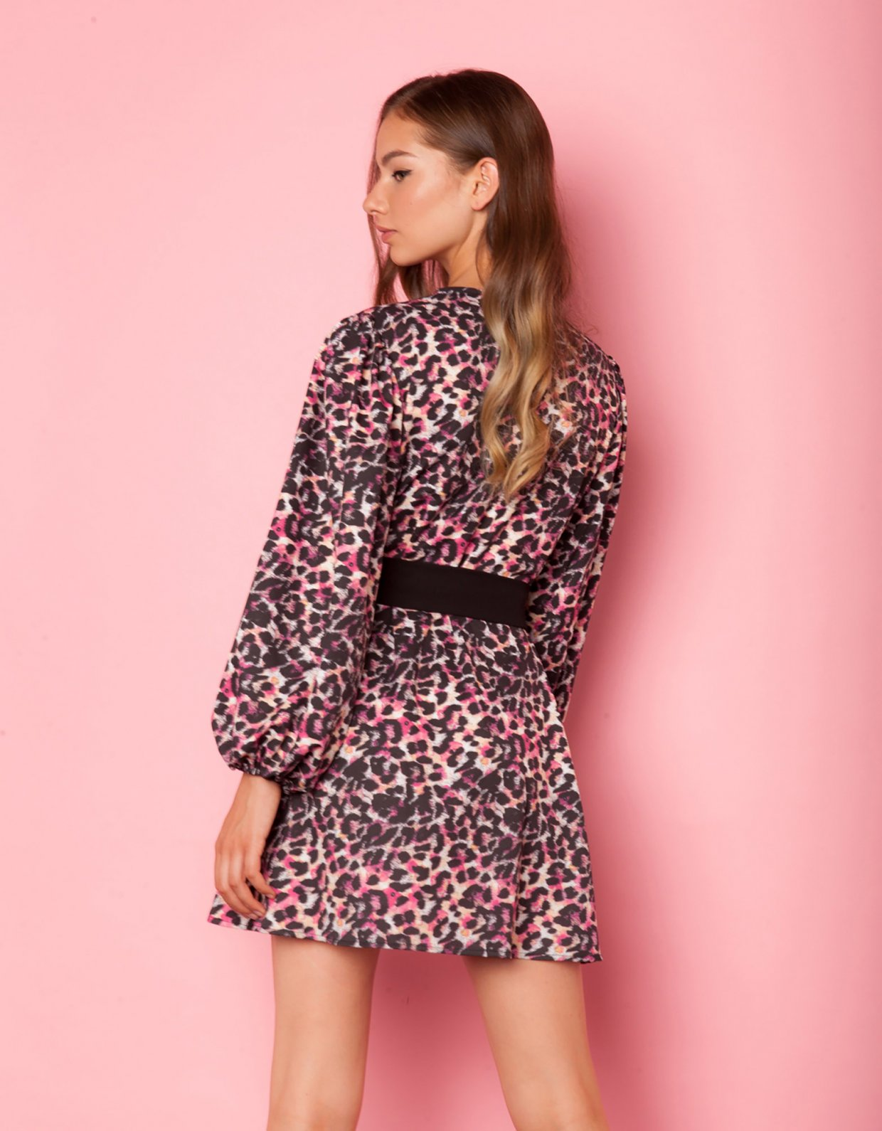 Mallory the label Sweet thing animal print dress