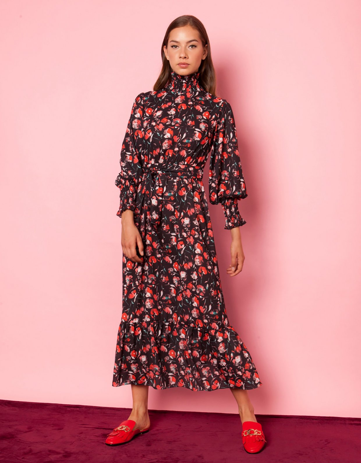 Mallory the label Vienna floral dress