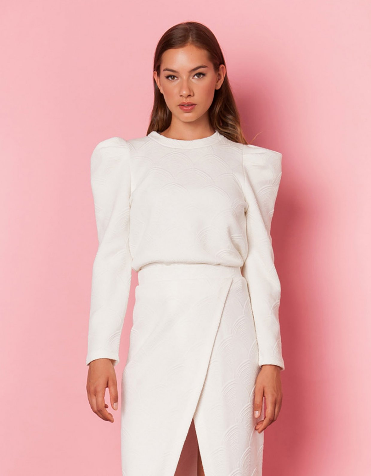 Mallory the label Amore white top