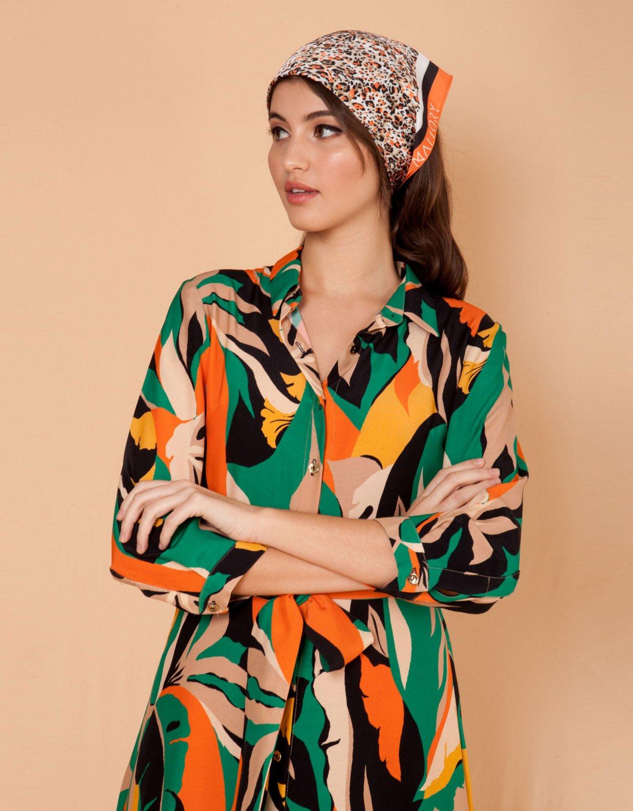 Mallory the label Roma green dress