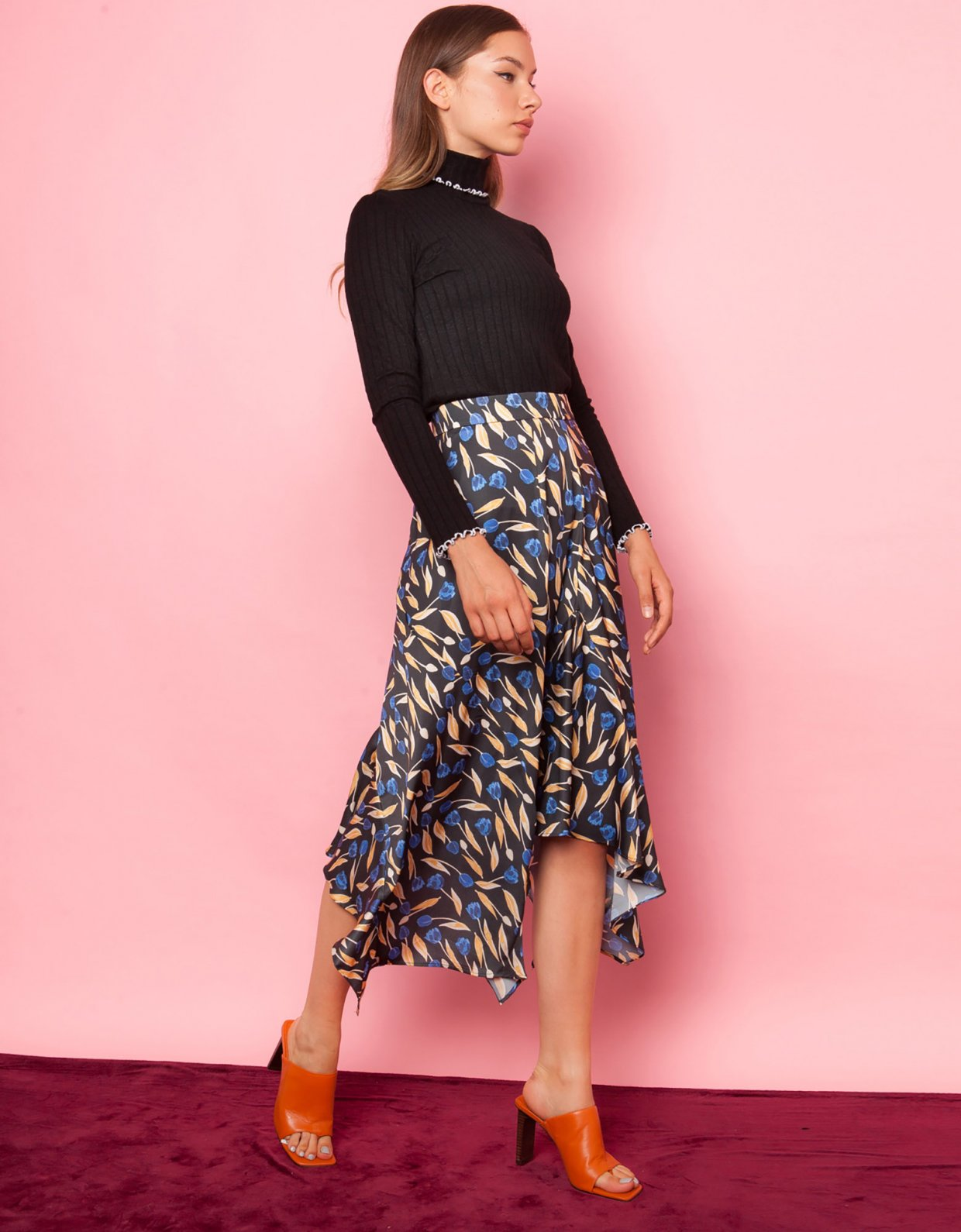 Mallory the label Kiss me floral skirt