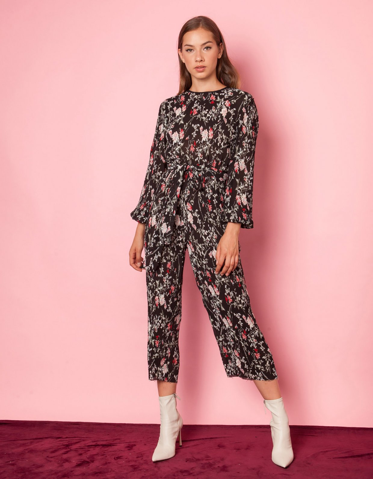 Mallory the label Magic floral jumpsuit