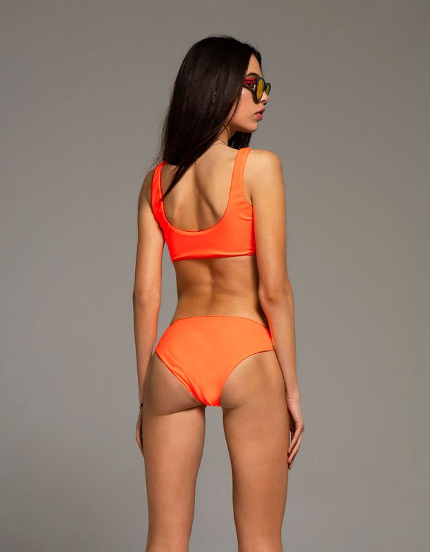 Peace & Chaos Hot orange bikini