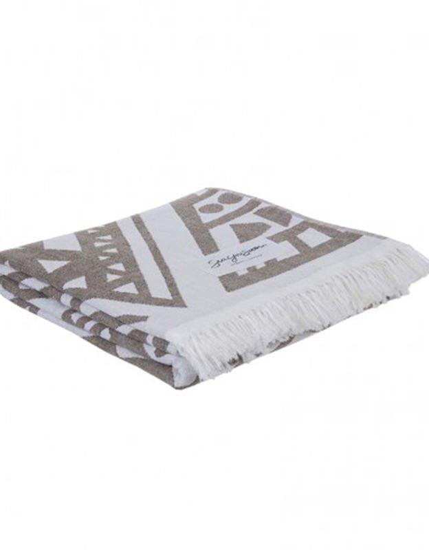 Sea you soon Boa vista olive - Beach towel