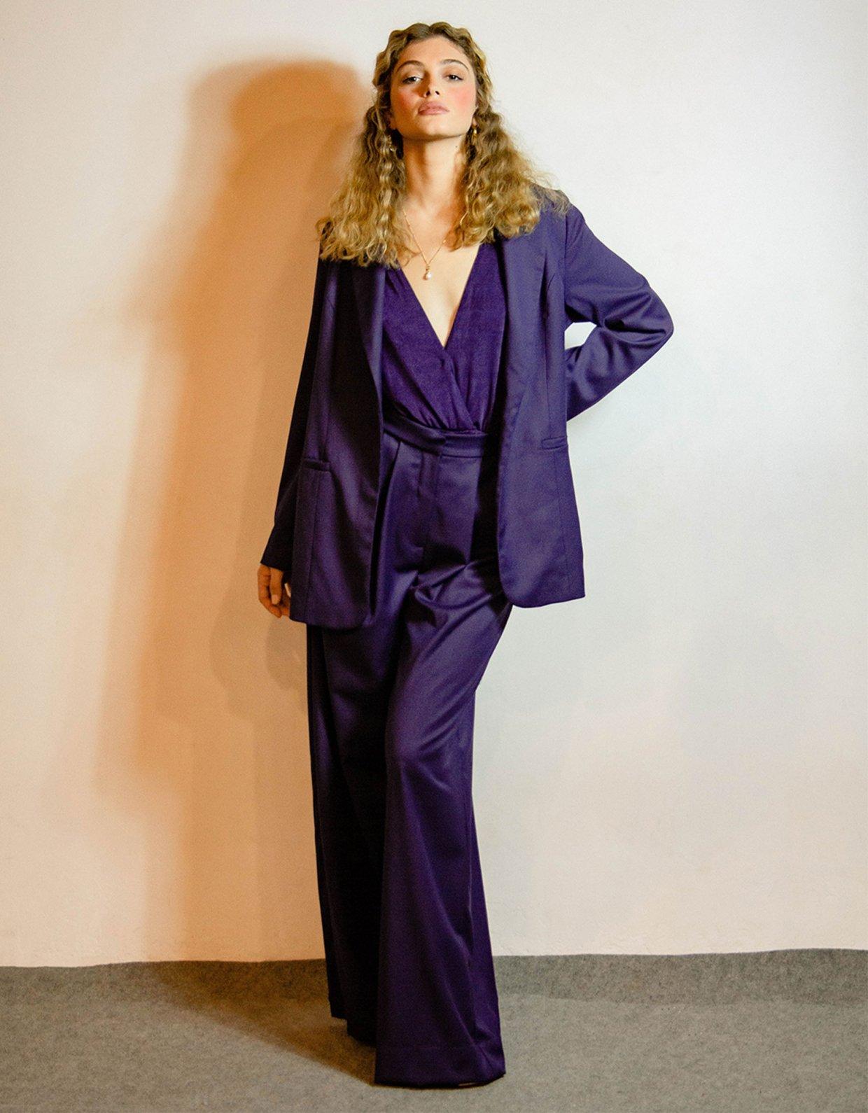 Madame Shoushou Suze purple pants