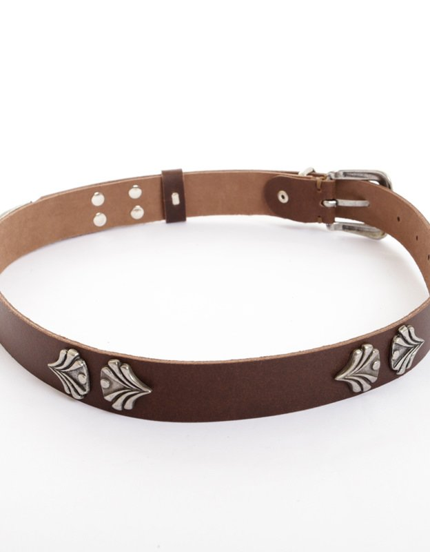 Individual Art Leather Crazy brown belt