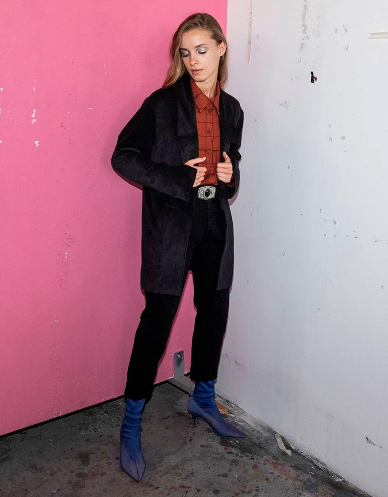Nadia Rapti Bon Jovi black jeans