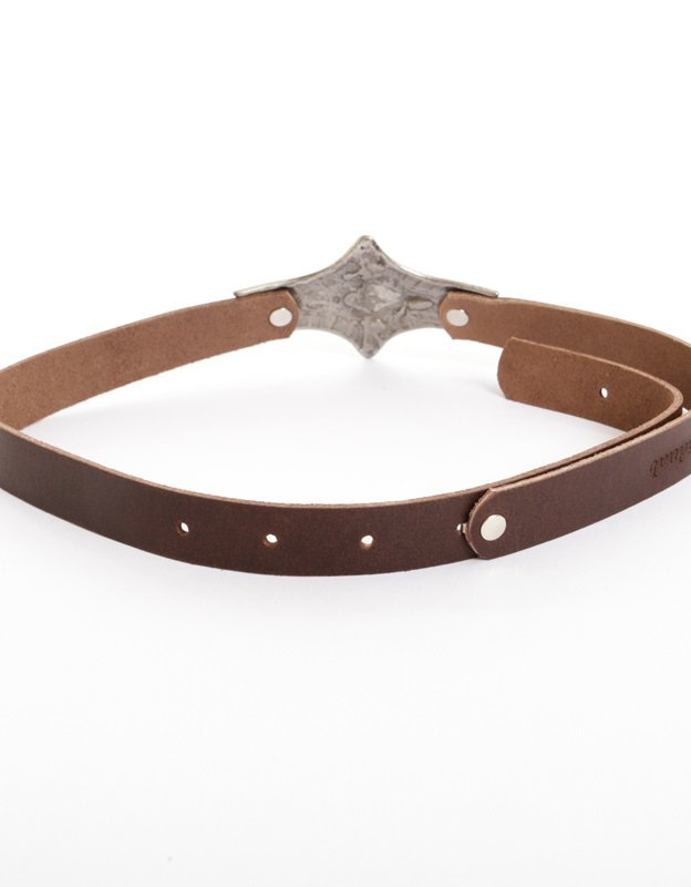 Individual Art Leather Ego brown belt
