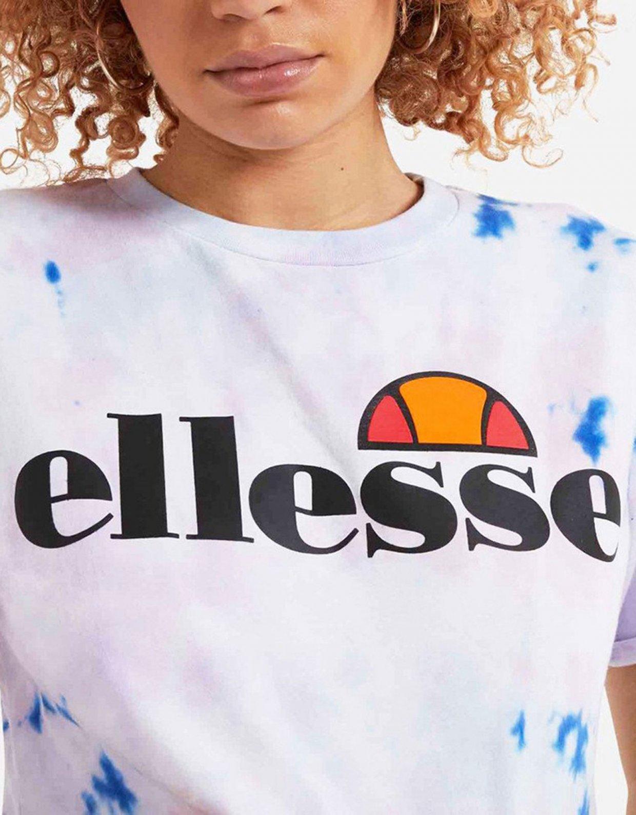 Ellesse Alberta tie dye cropped tee