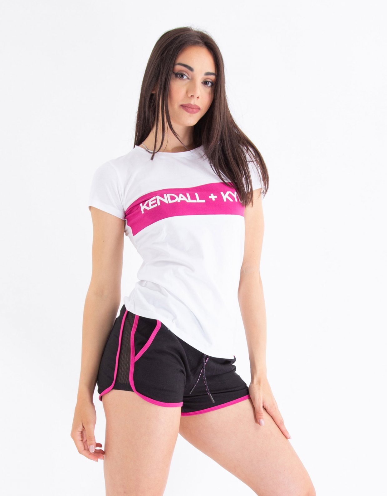 Kendall + Kylie White t-shirt