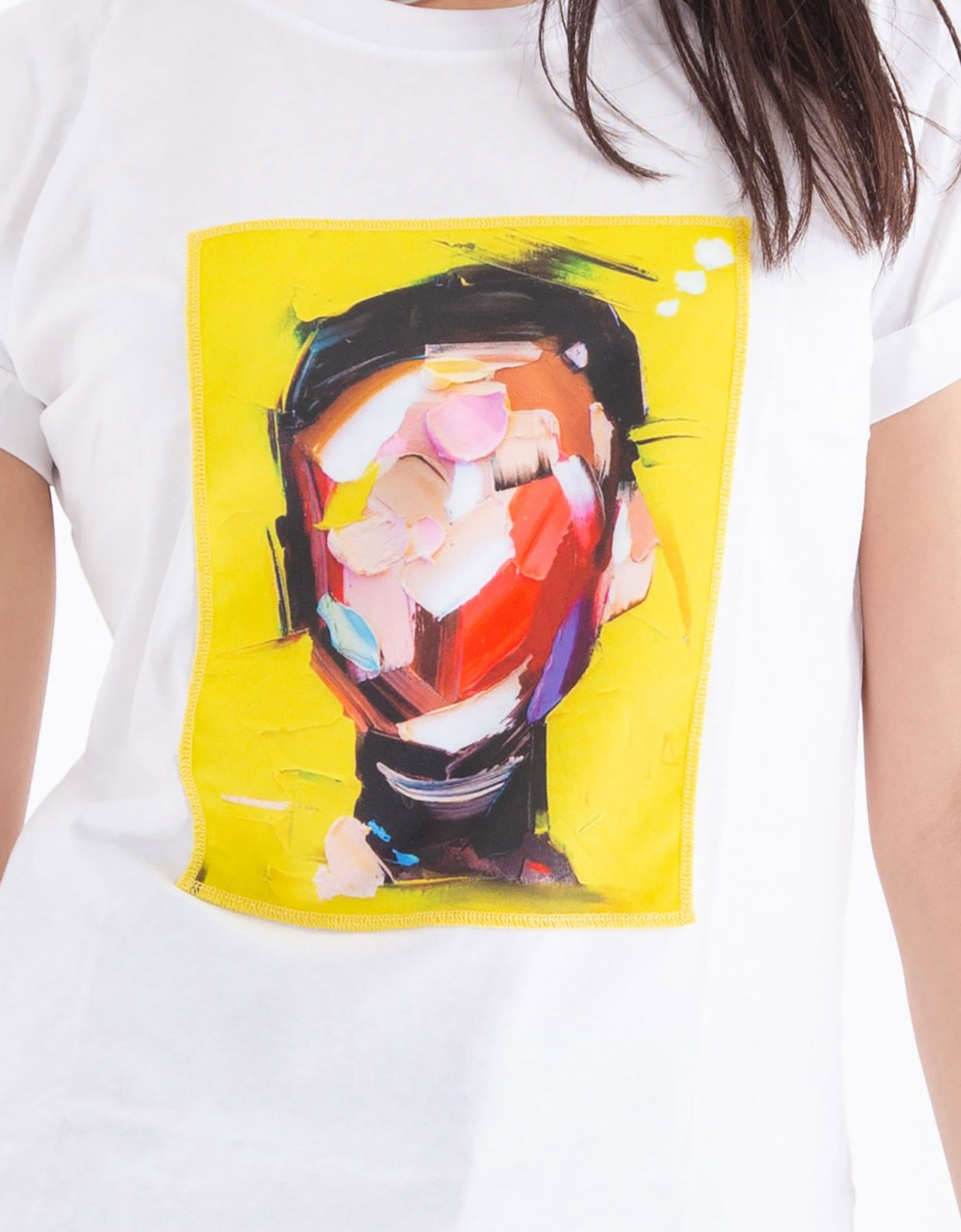 Ripped Cotton Painthead t-shirt