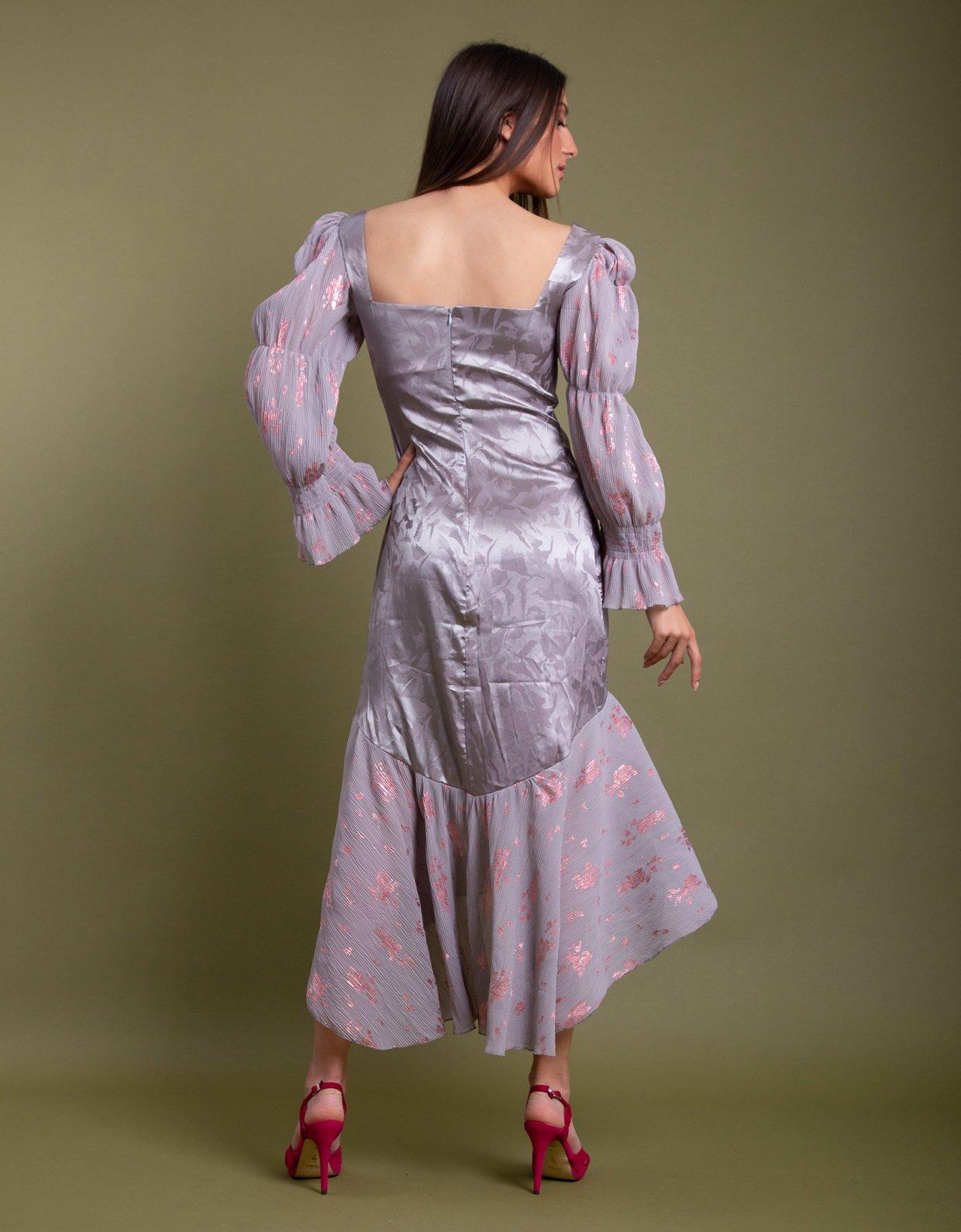 Nidodileda Virginis dress light grey