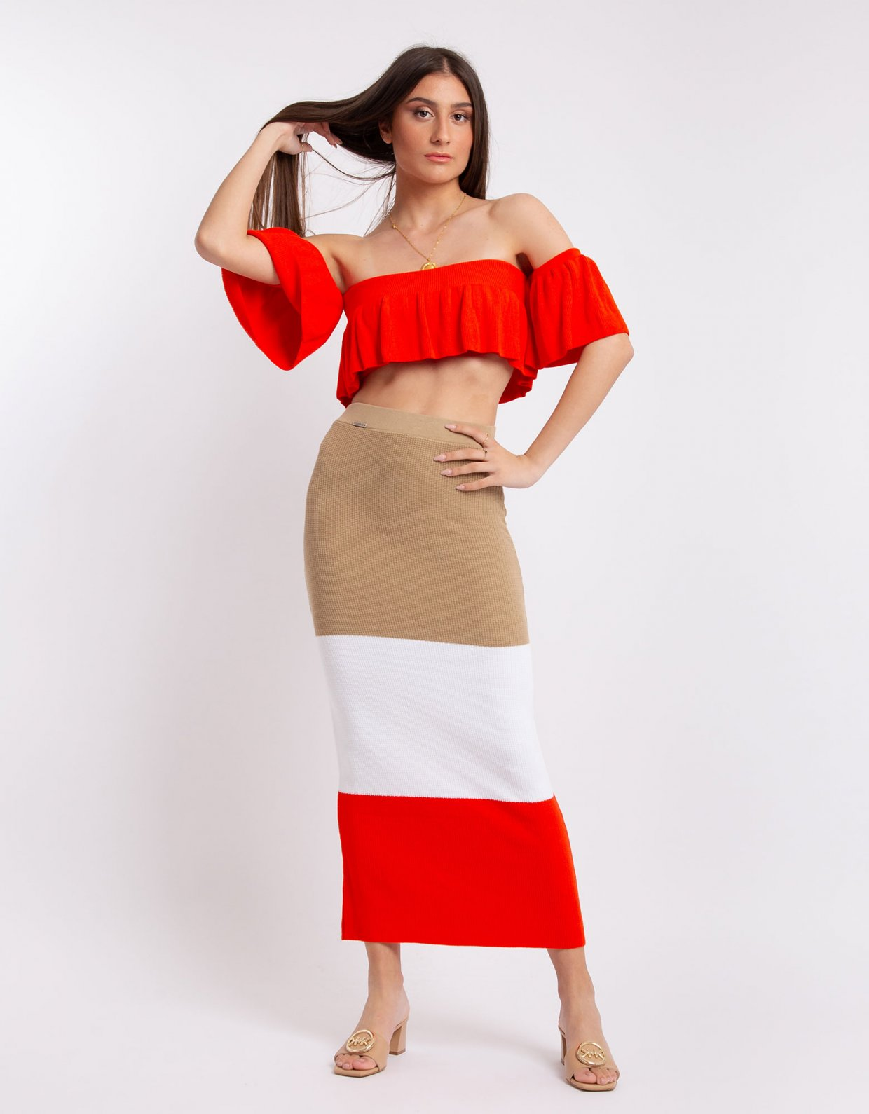 Combos Knitwear Combos S60 – Coral set