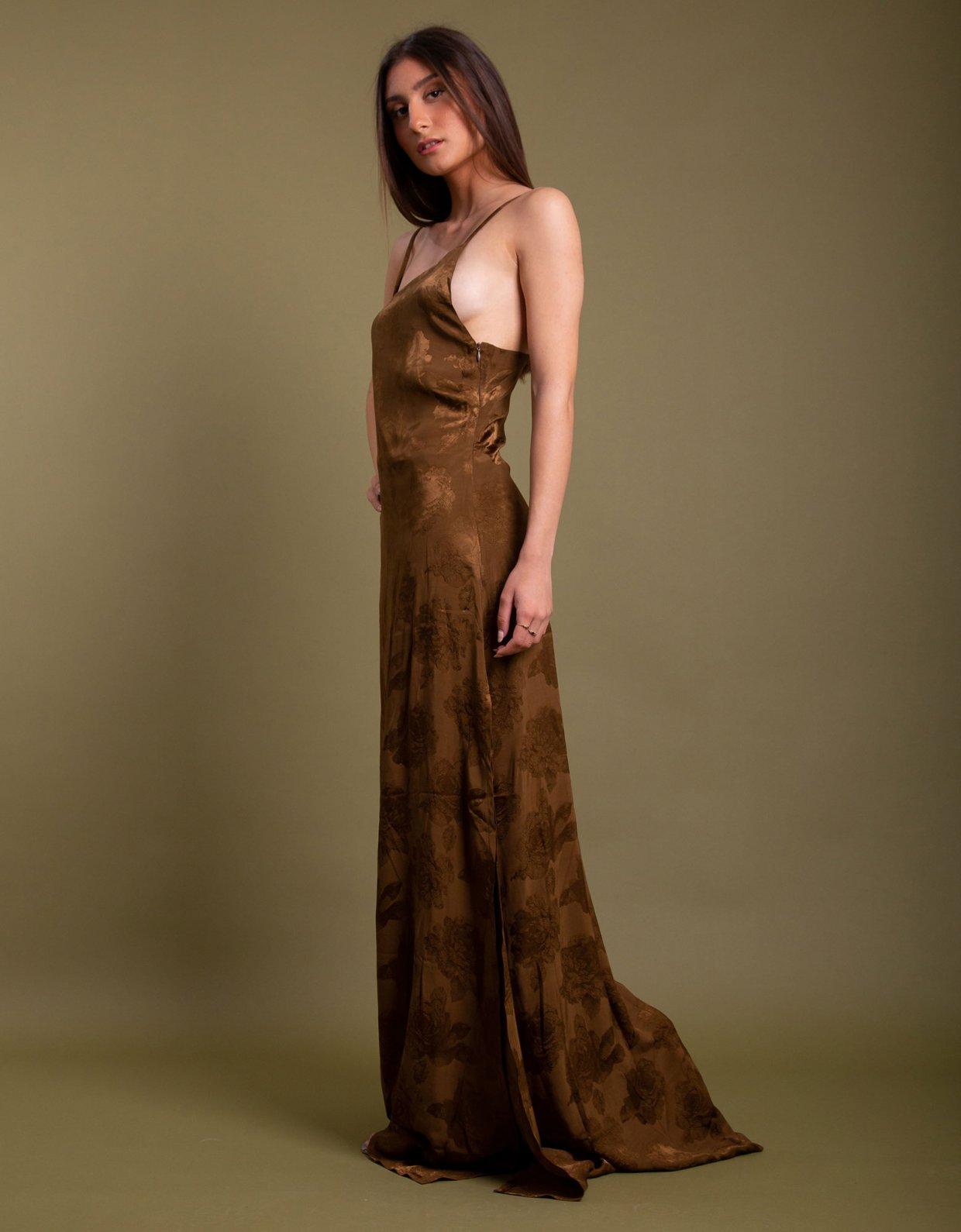 Nidodileda Camino dress brown