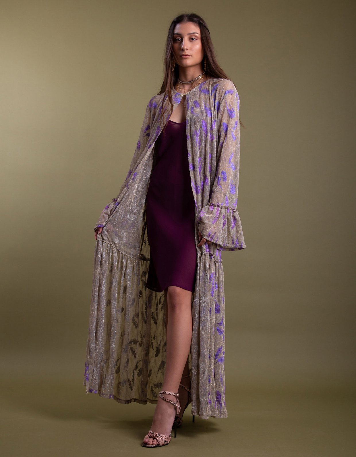 Nidodileda Grus kimono