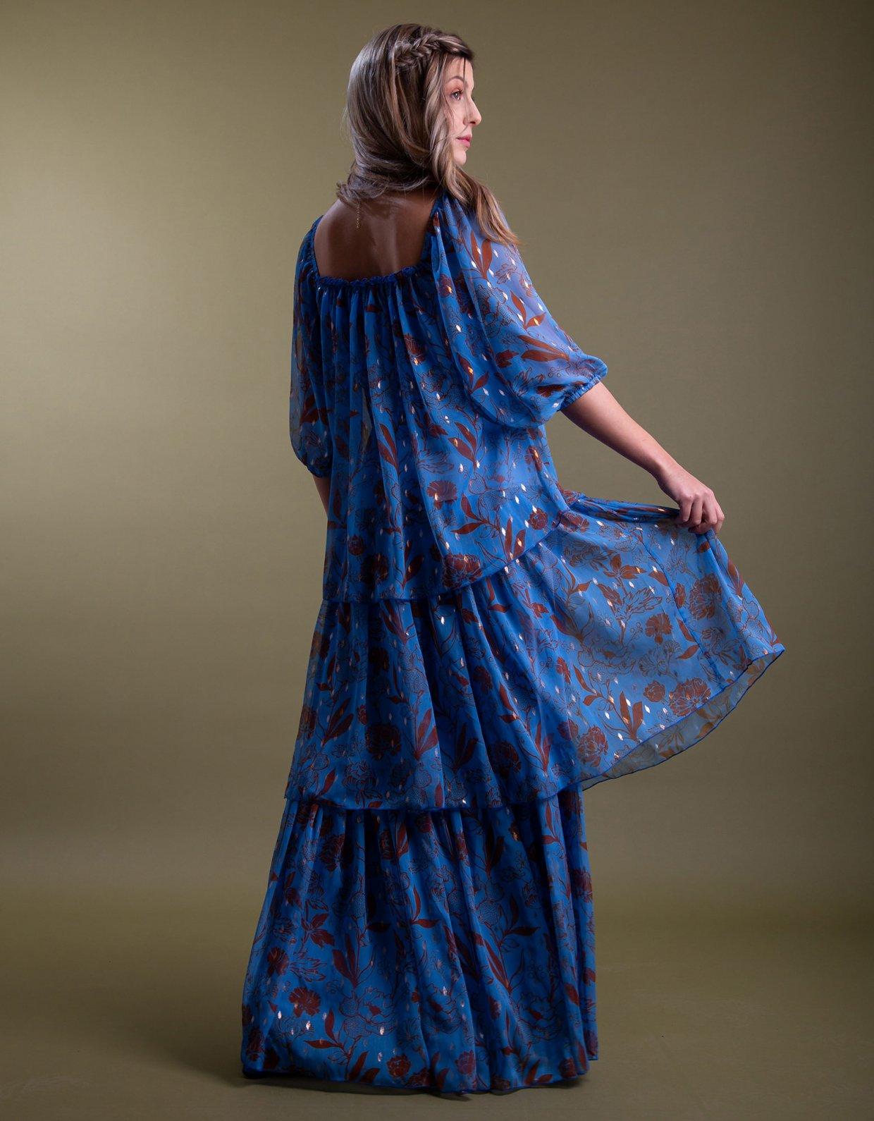 Nidodileda Leticia blue dress