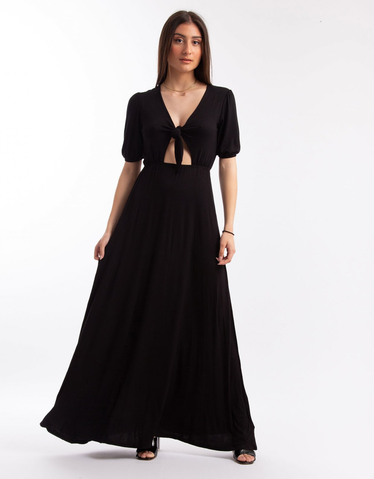 Kendall + Kylie Front tie maxi dress