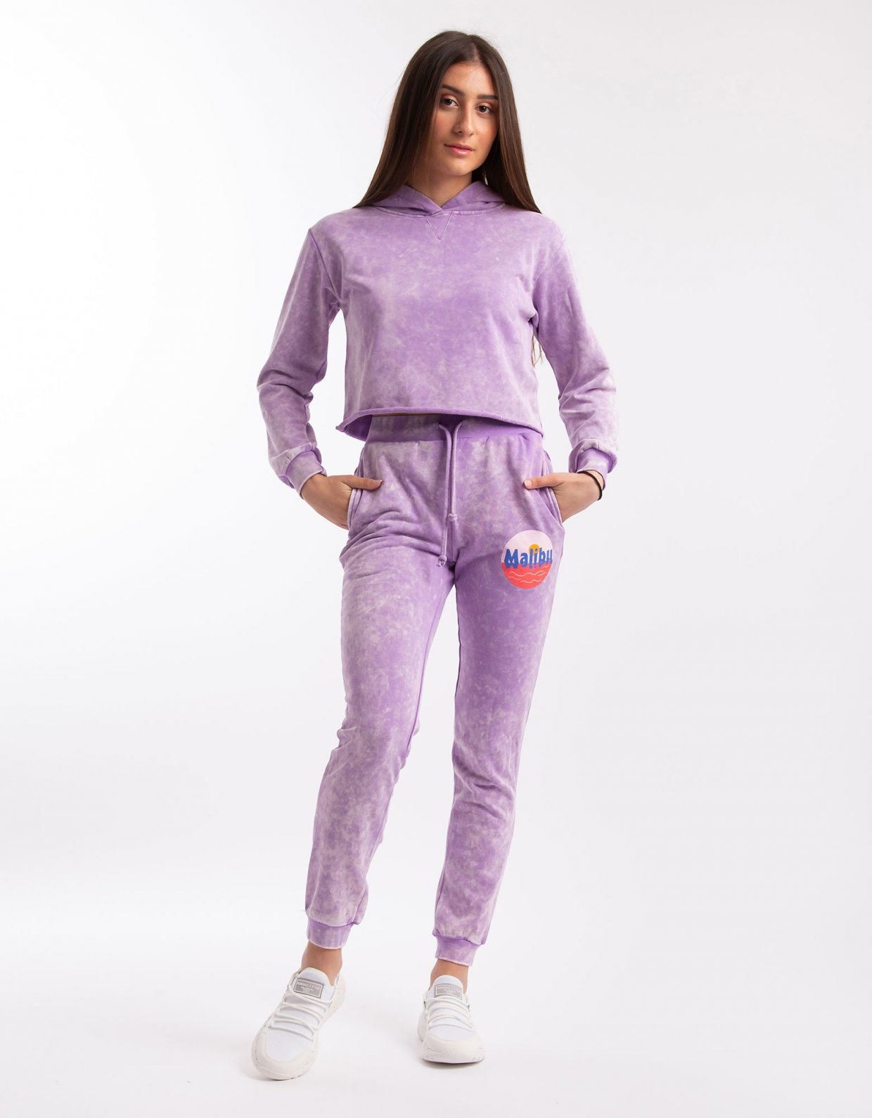 Kendall + Kylie Back ruching joggers