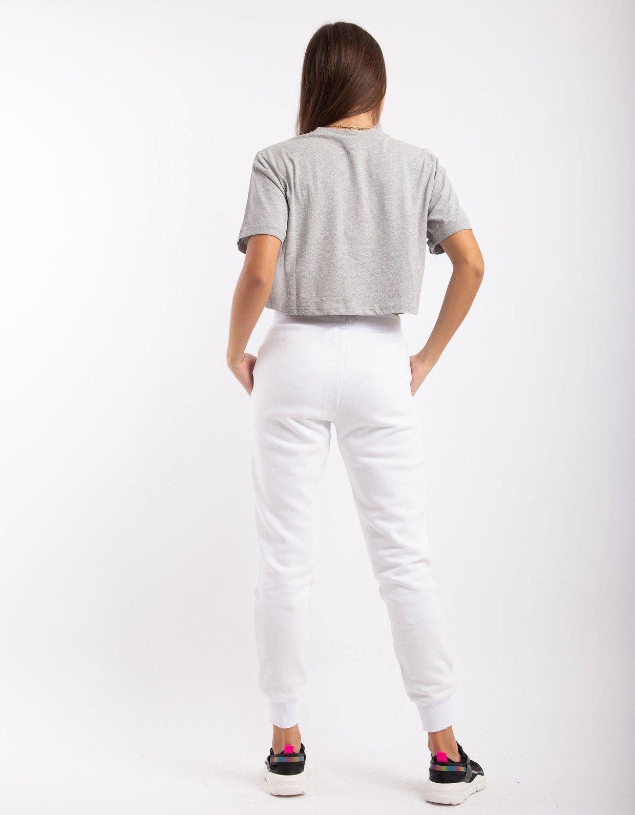 Ellesse Hallouli jog pants white