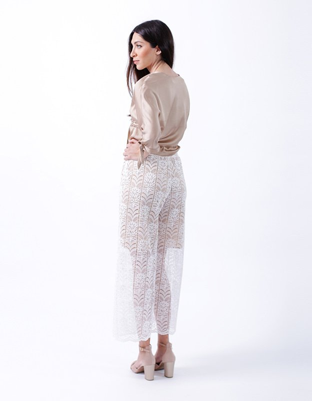 The Knl's Memoir lace pants