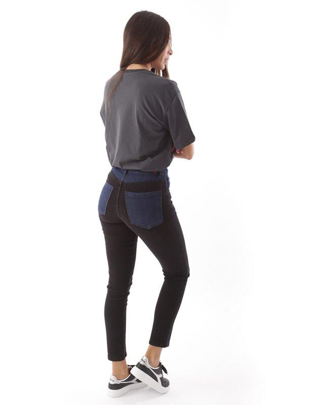Salt & Pepper Melina black trousers