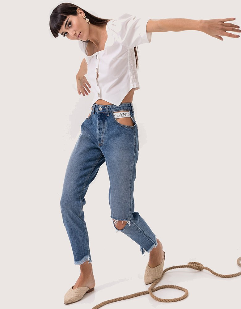 The Knl's Burst blue jeans