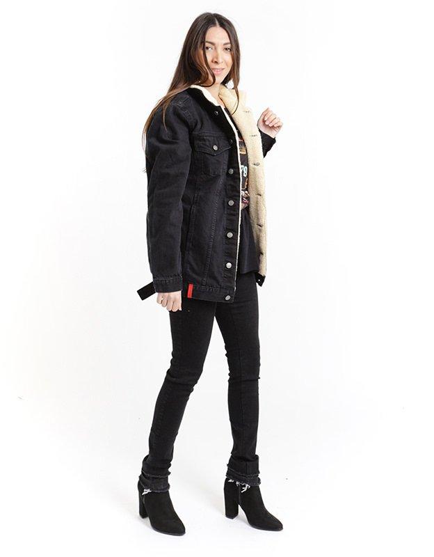 Salt & Pepper Bianca black jacket