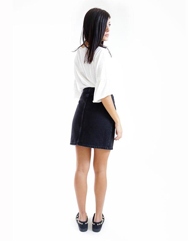 Salt & Pepper Arya black skirt