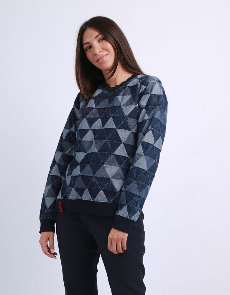 Salt & Pepper Faye triangle top