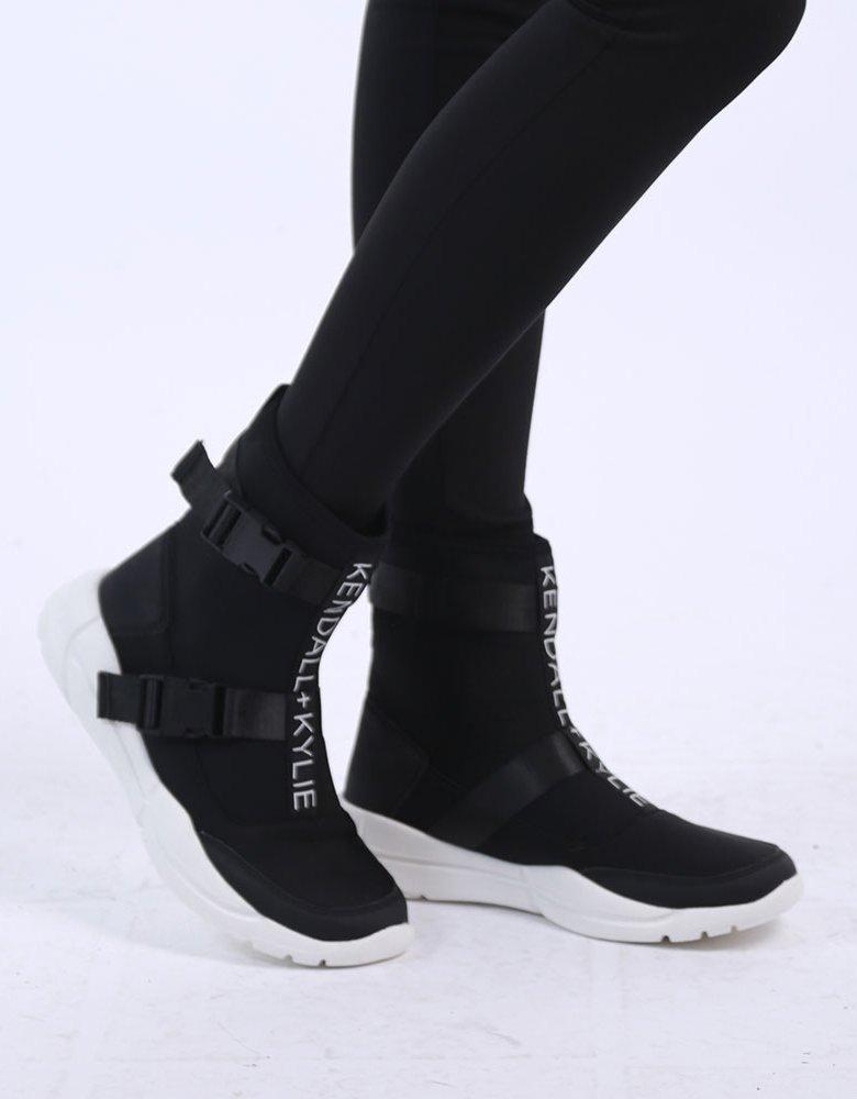 Kendall + Kylie KK Nemo black sock sneaker boots