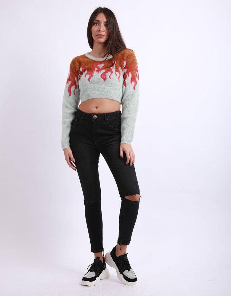 For love & lemons Flame sweater
