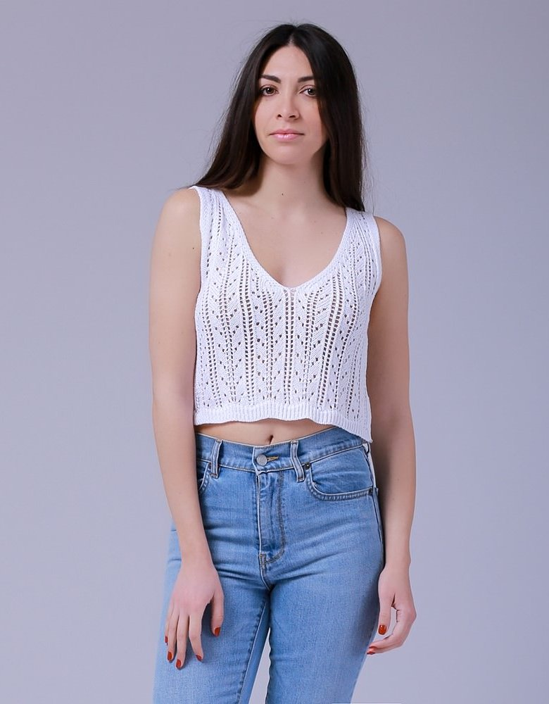 Combos Knitwear Combos S-41 White top