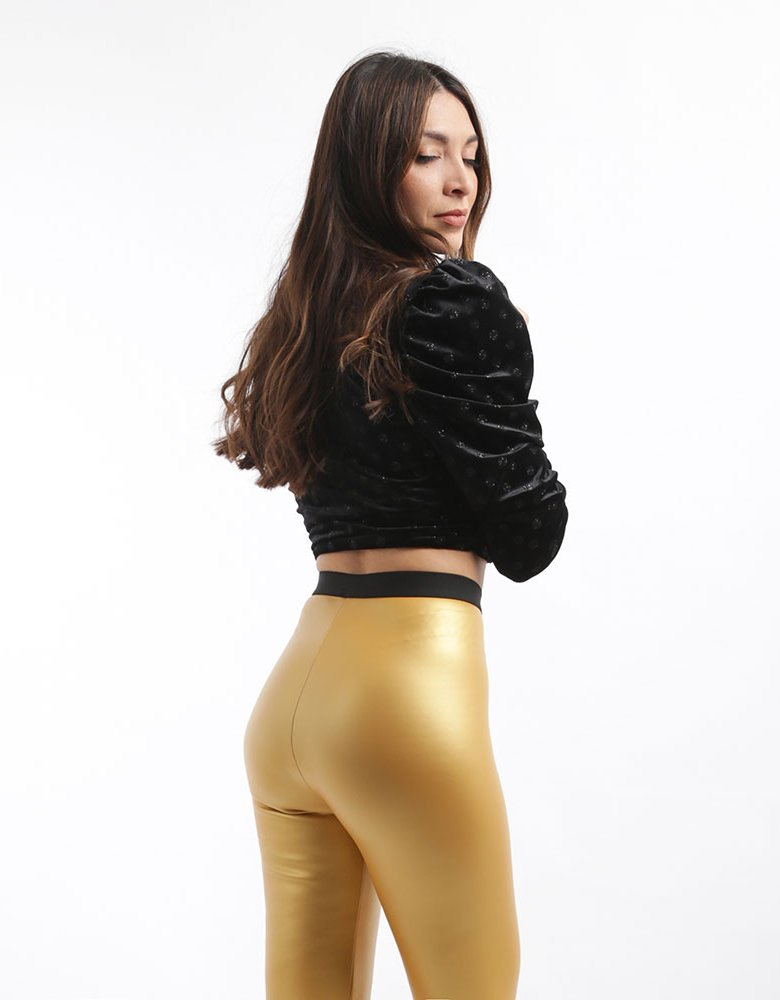 For love & lemons Elisa velvet top